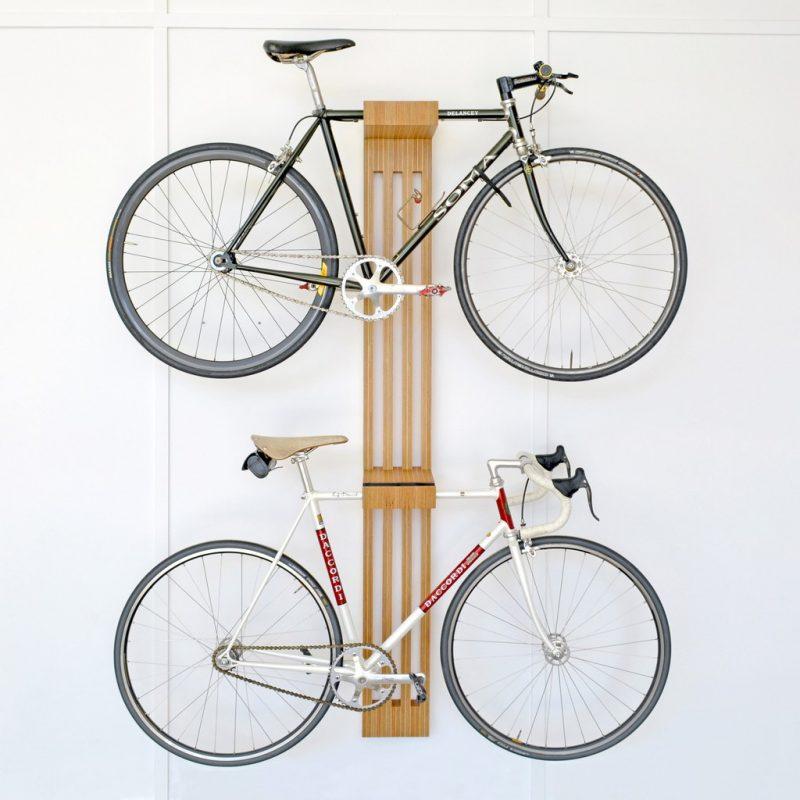 Range vélo déco double