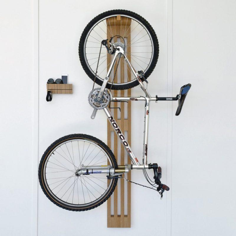 Idée déco pour suspendre un vélo