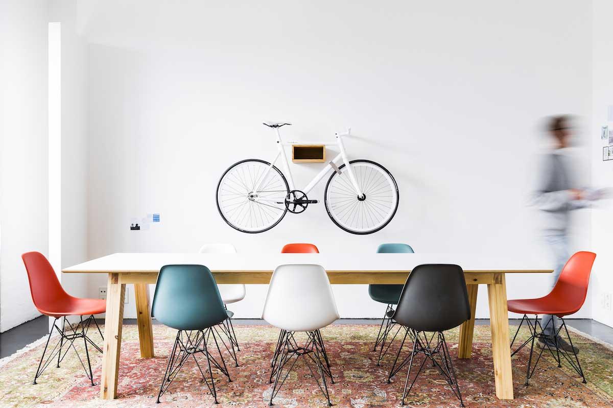 Accroche Velo pour vélo accroché au mur