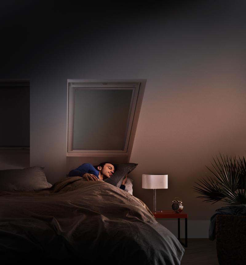 Dormir dans le noir