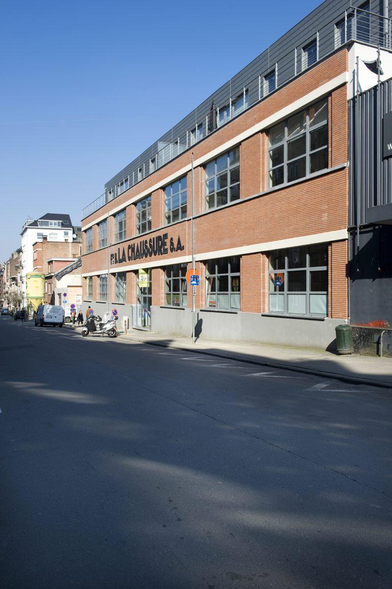 Loft ancienne usine de chaussures Bruxelles
