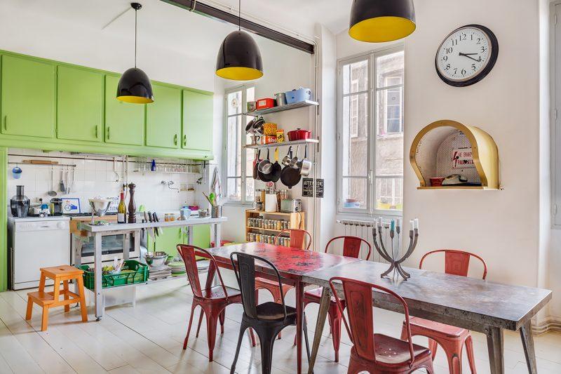 d co aux notes vintage indus et arty. Black Bedroom Furniture Sets. Home Design Ideas