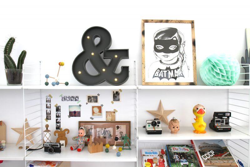 31 id es d co de lettres lumineuses. Black Bedroom Furniture Sets. Home Design Ideas