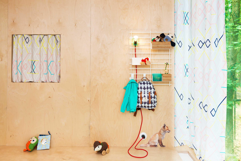 Syst me de rangement mural loopholes par atelier belge - Rangement mural atelier ...