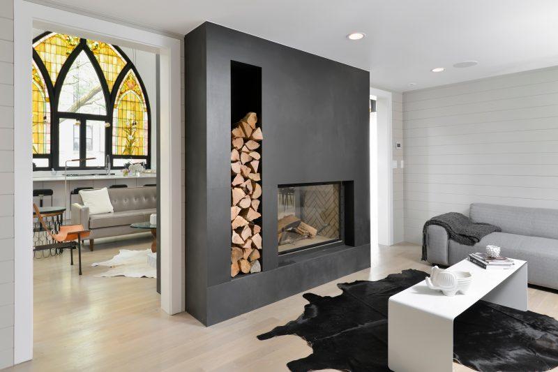 Chemin e moderne - Photo de cheminee moderne ...