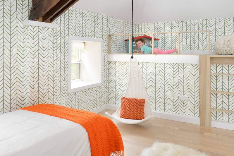 Chambre d'enfant dans un loft