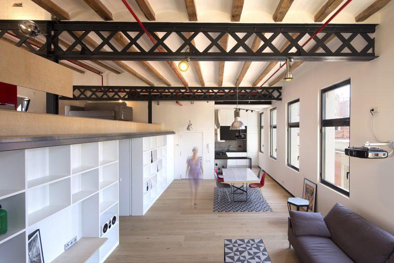 Loft à Barcelone par Meta Studio