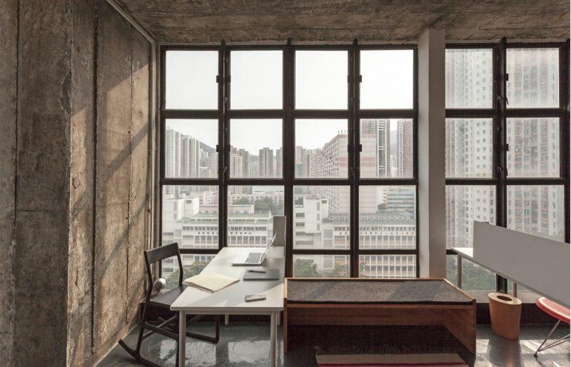 Loft avec vue sur Hong Kong