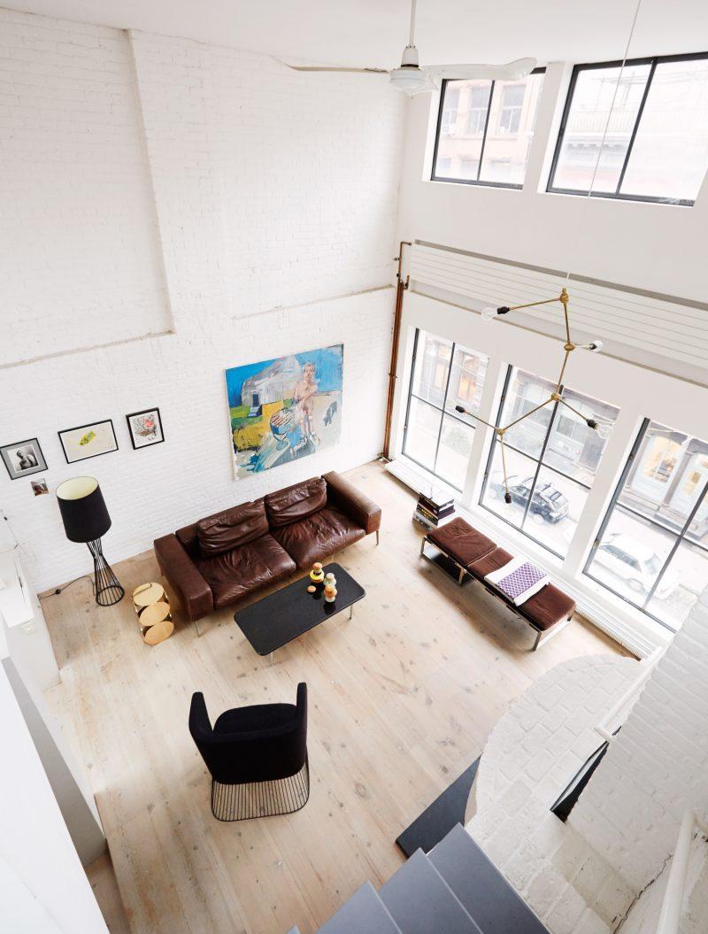 Loft vintage à New York