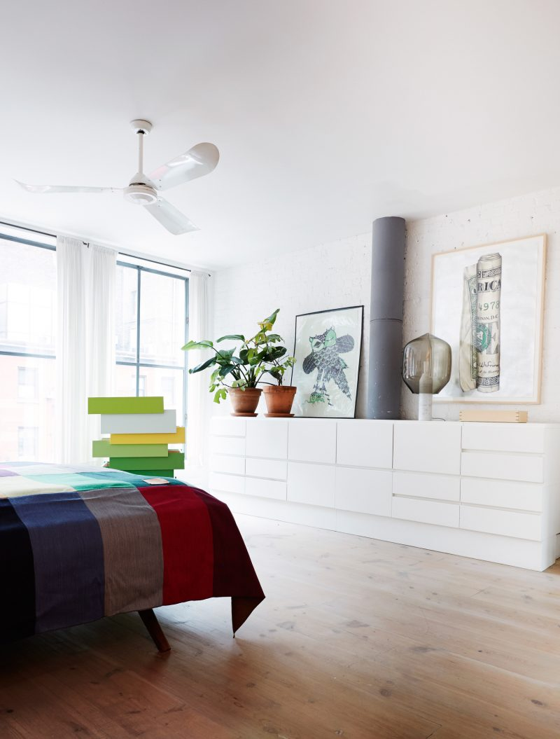 Loft vintage et scandinave à New York