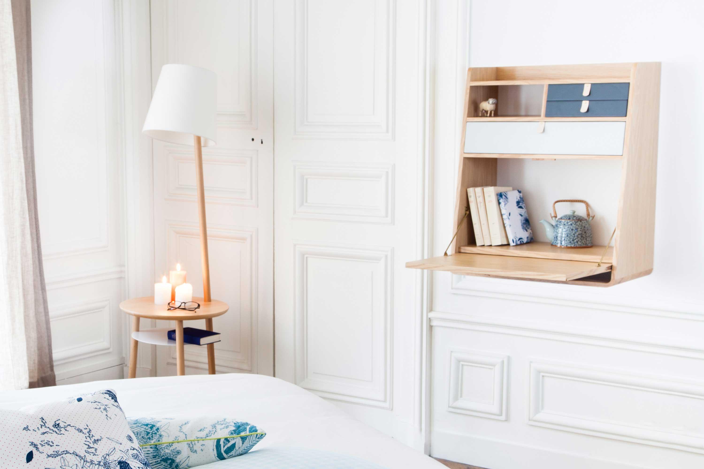 secr taire mural hart esprit scandinave. Black Bedroom Furniture Sets. Home Design Ideas