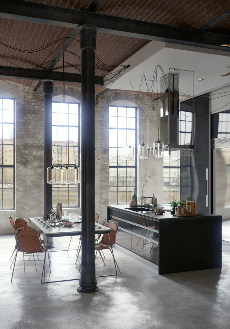 Industrial conversion par algimantas raubi ka - Industrial look mobel ...