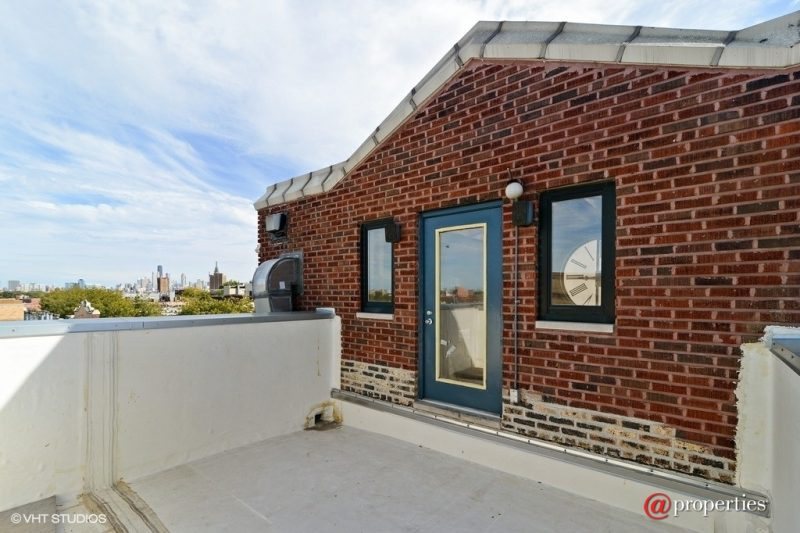 Terrasse de toit du loft