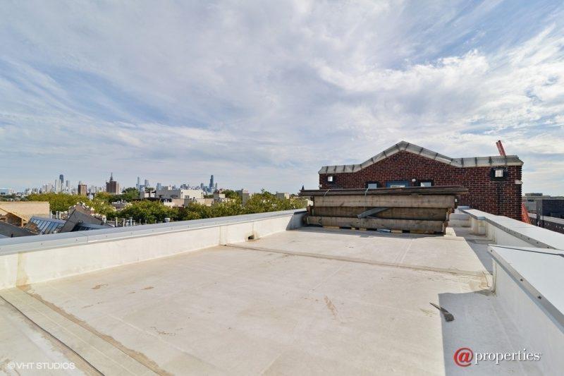 Terrasse avec vue sur Chicago
