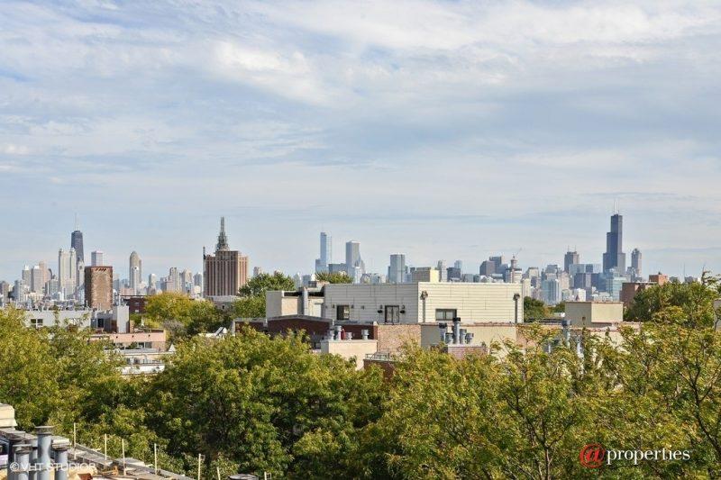 Vue sur Chicago