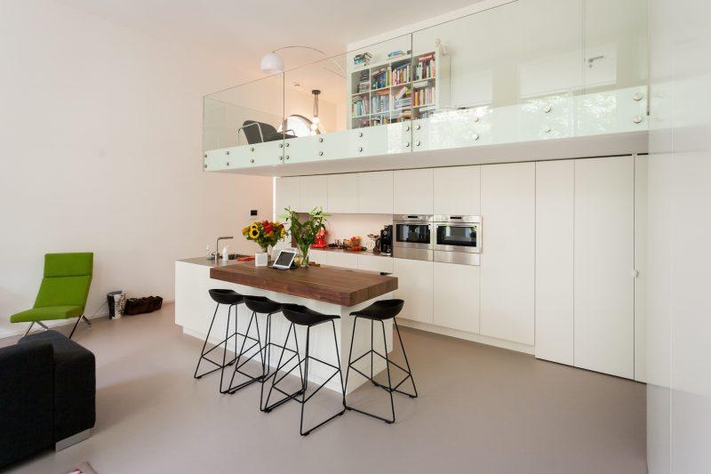 Ecole transformée en loft à Amsterdam