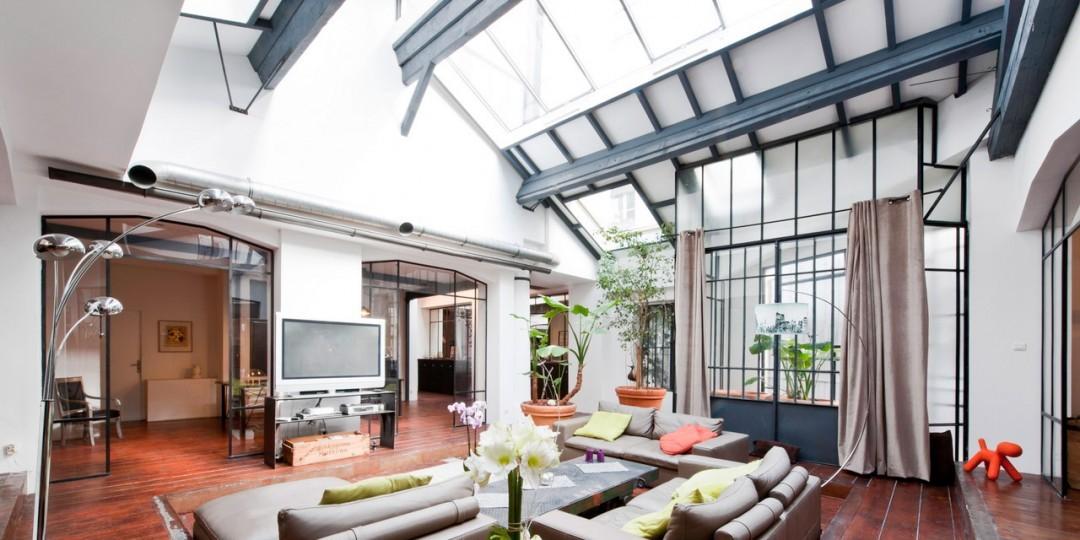 Photos de lofts et ateliers de styles industriel moderne for Loft et atelier