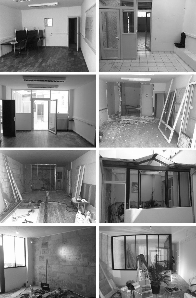 Loft avant et pendant travaux