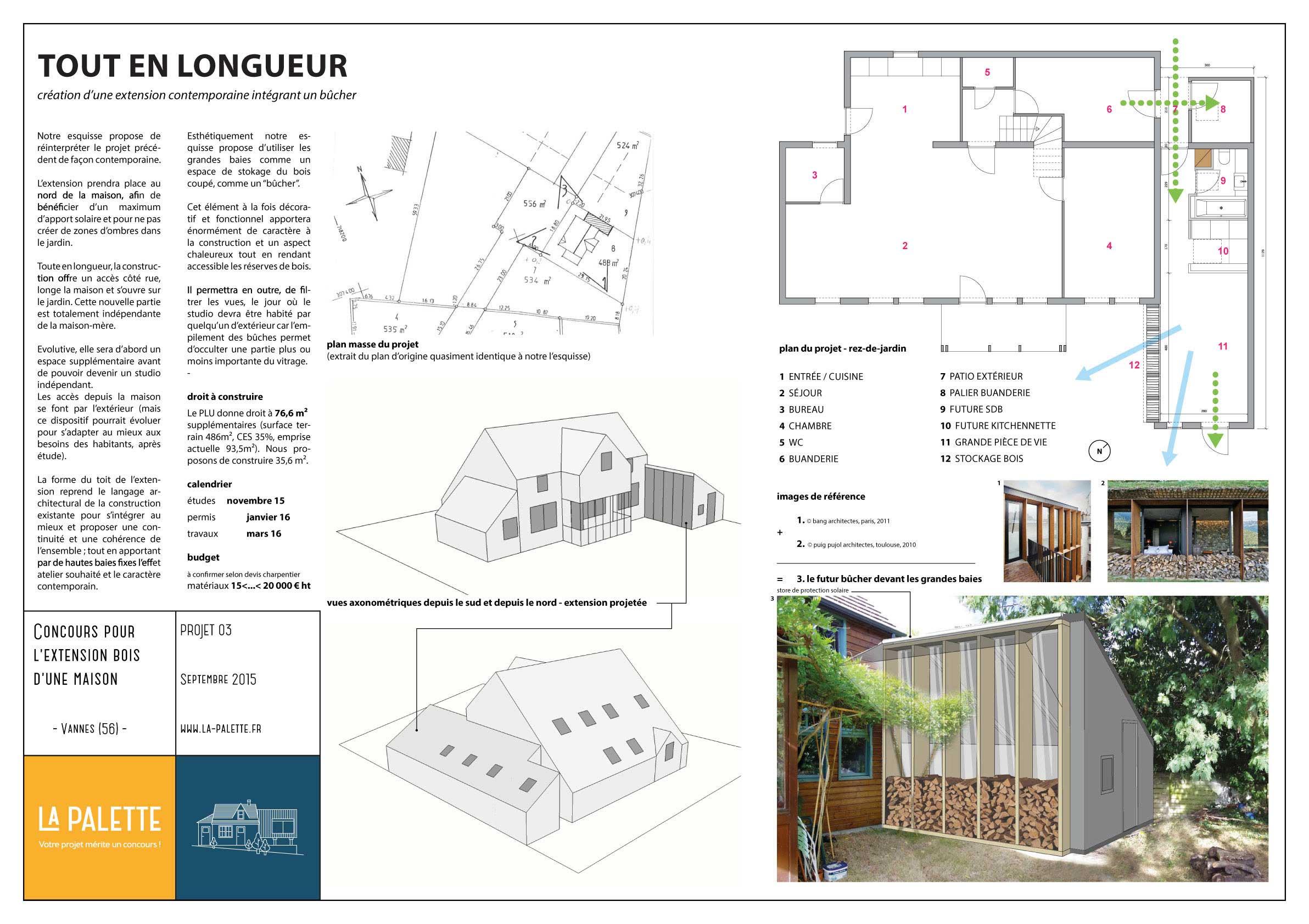 La palette vous aide trouver votre architecte for Projet extension