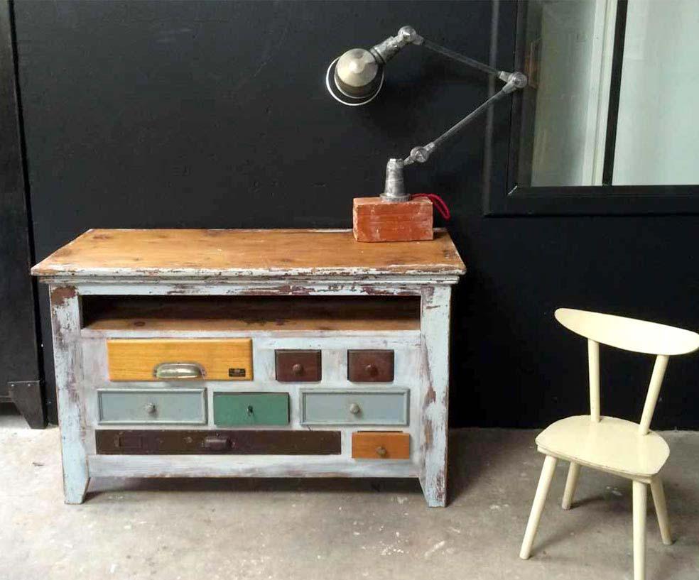 Commode atypique for Produit interieur brut meubles