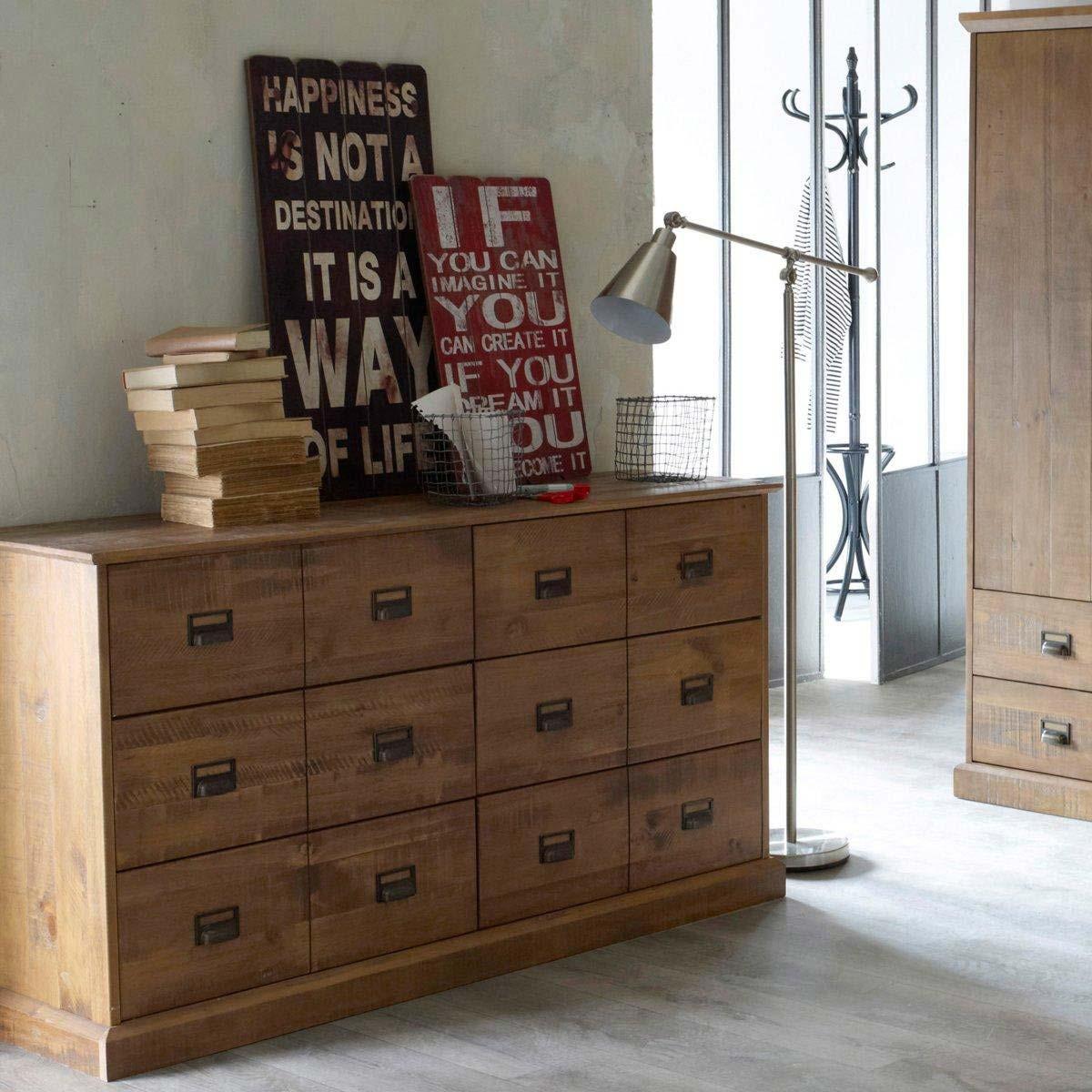 commode en pin massif par la redoute. Black Bedroom Furniture Sets. Home Design Ideas
