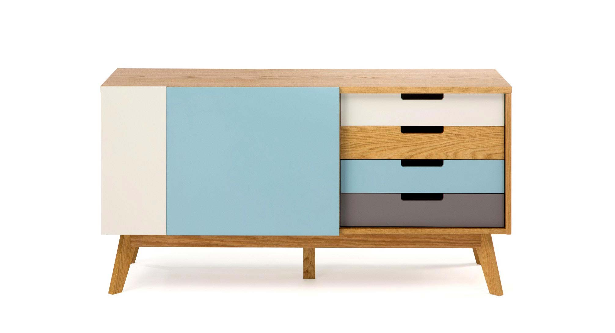Buffet scandinave color - Meuble colore ...