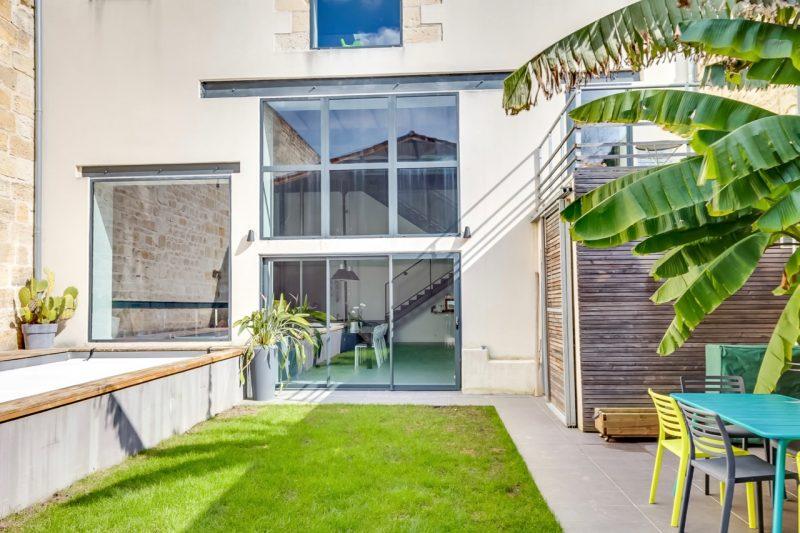Loft avec jardin à Bordeaux