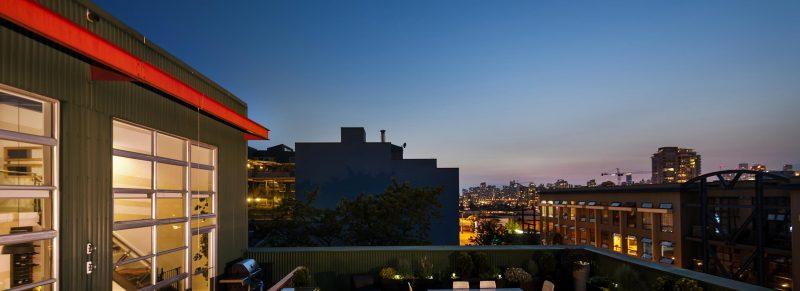 Loft avec terrasse à Vancouver