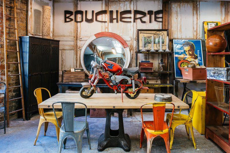 5 Francs à Lyon, déco industrielle et design brut