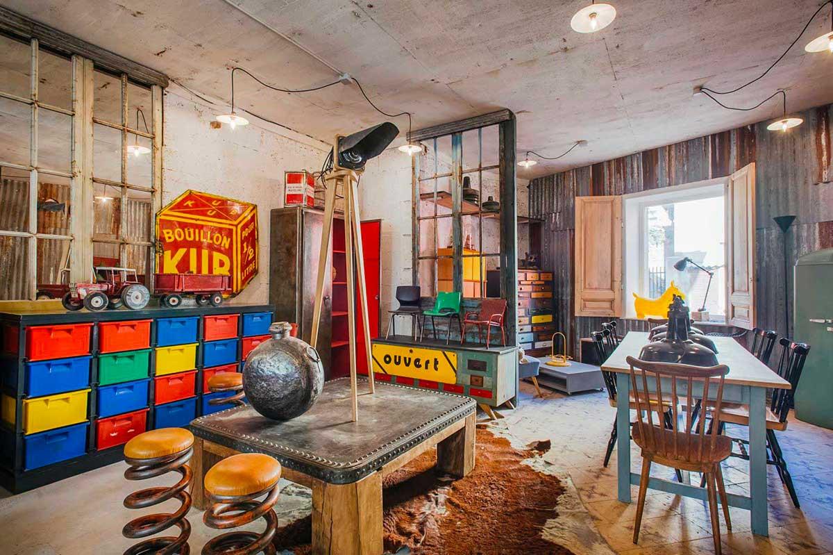 5 francs lyon d co industrielle et design brut - Deco loft industriel ...
