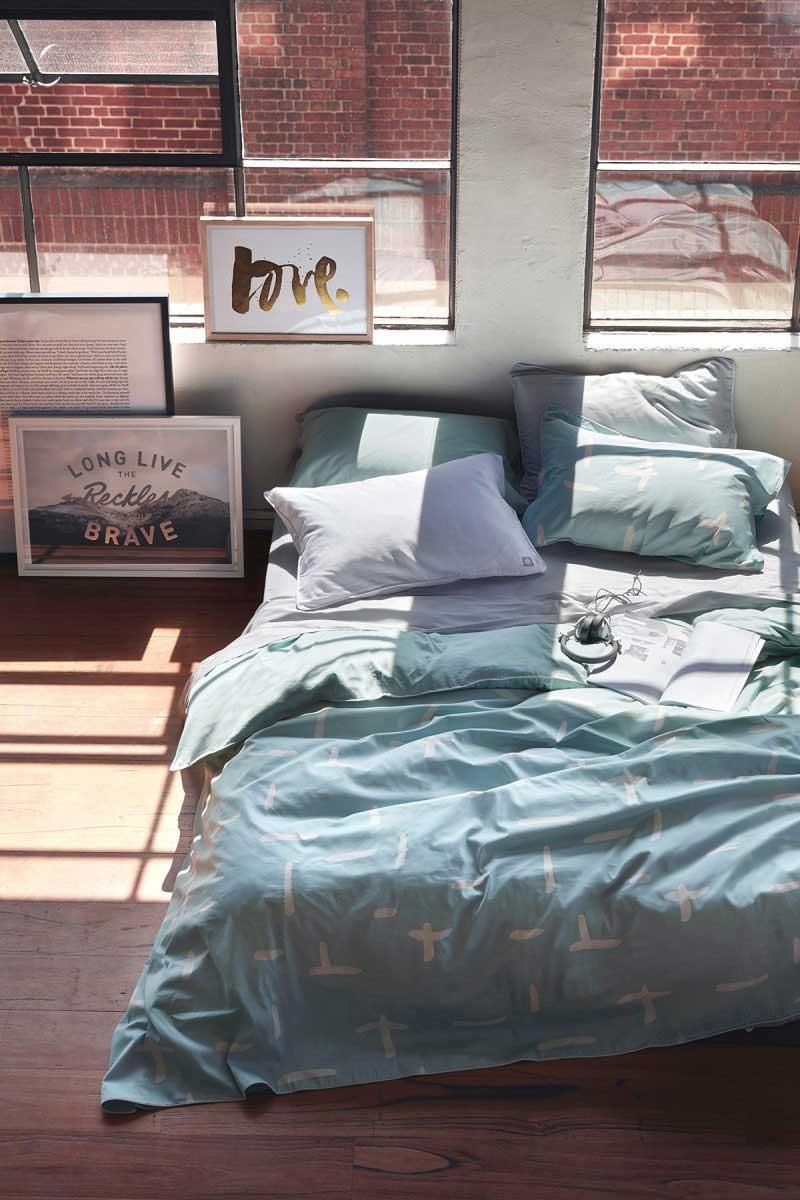 Chambre avec verrières
