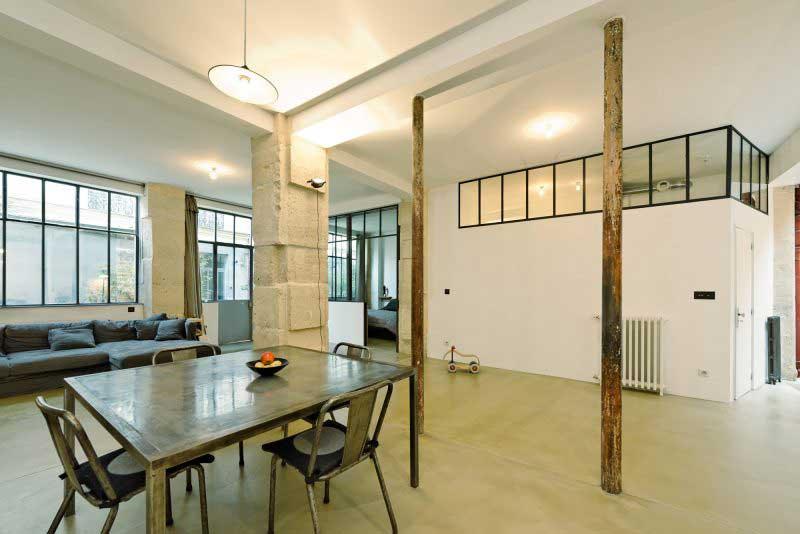 Loft dans un ancien atelier paris - Acheter atelier paris ...