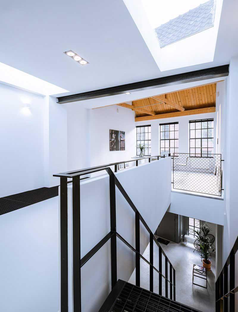 loft avec puit de lumière