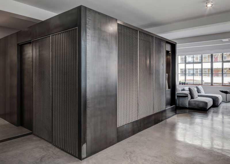 Loft industriel à Londres par APA