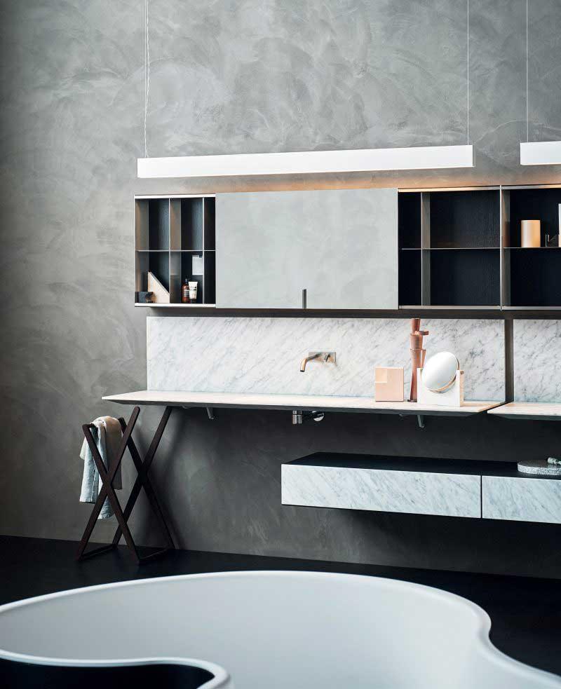 Vasque de salle de bains ultra-plate