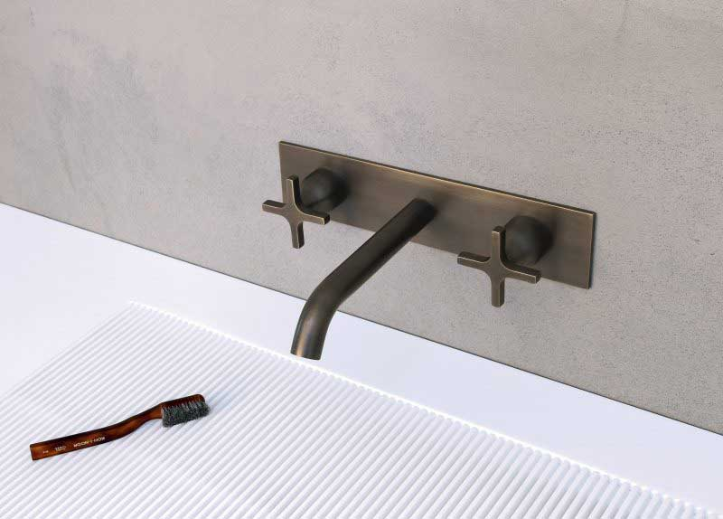 Vasque de salle de bains plate par Agape