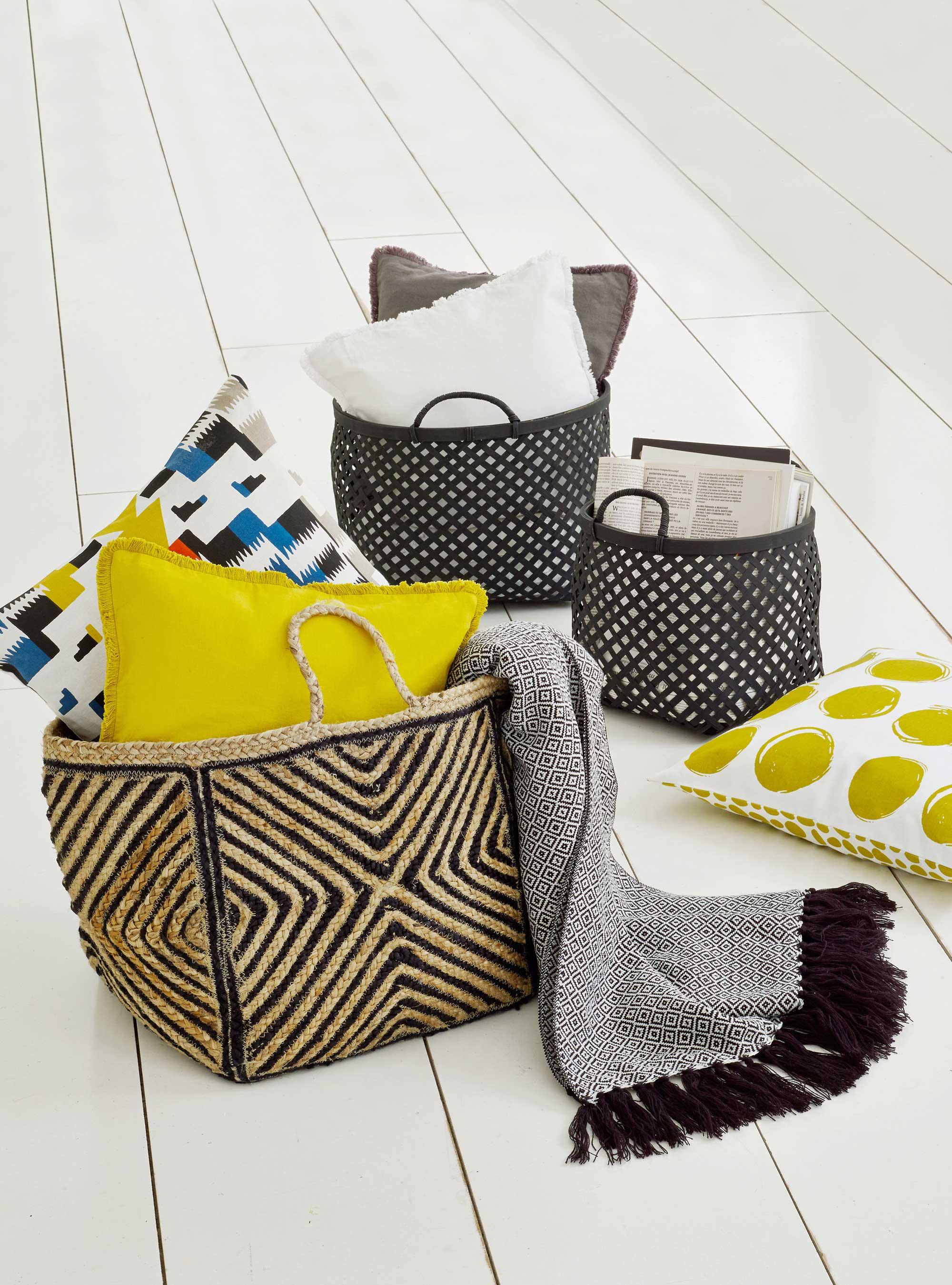 paniers la redoute. Black Bedroom Furniture Sets. Home Design Ideas