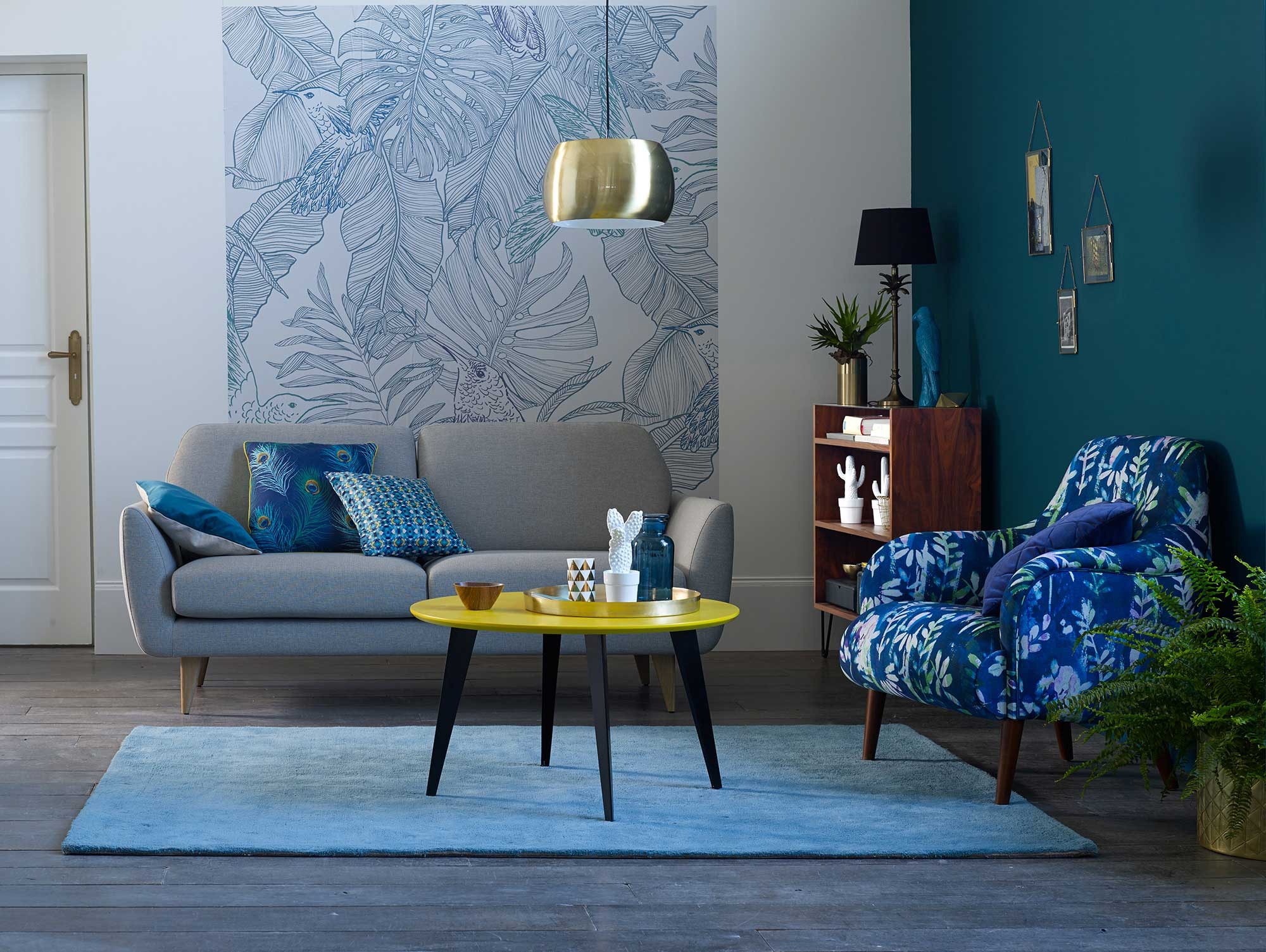 d co salon par la redoute. Black Bedroom Furniture Sets. Home Design Ideas