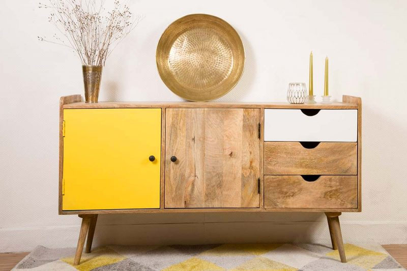 48 id es d co de buffet et commode - Buffet design scandinave ...