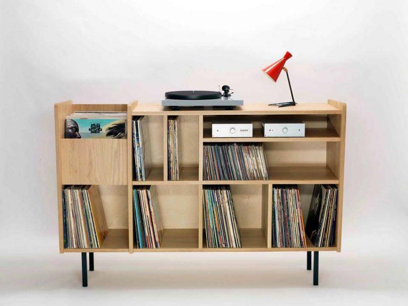 Buffet pour ranger les vinyles