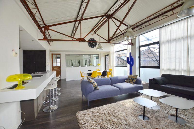 Loft dans un ancien atelier wambrechies - Hangar transforme en loft ...