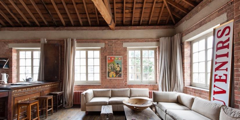 Loft londres loft atelier plateau surface vendre - Decoration maison de famille ...
