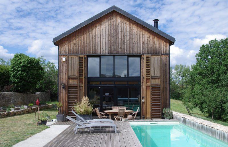 maison loft en bois ventana blog. Black Bedroom Furniture Sets. Home Design Ideas