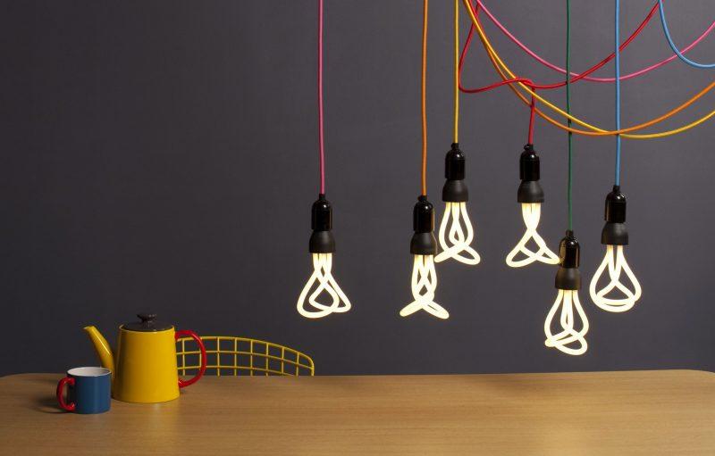 Suspension et ampoule Plumen