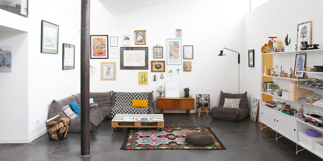Notre loft blog d co id es d co et photos de lofts for Idee deco loft