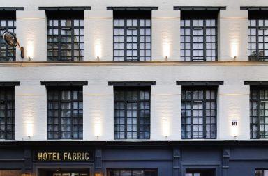 Hôtel Fabric : hôtel dans une ancienne usine à Paris