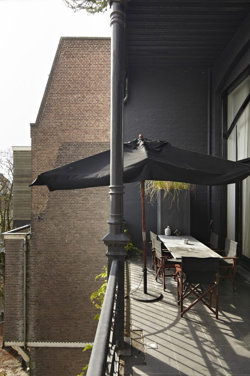 Loft avec balcon à Amsterdam