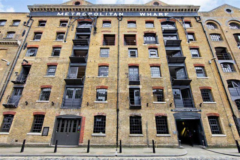 Loft à Londres dans le Metropolitan Wharf Building