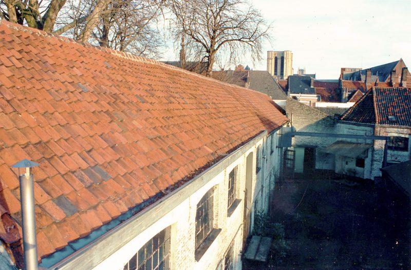 Batiment industriel à transformer en loft à Gand