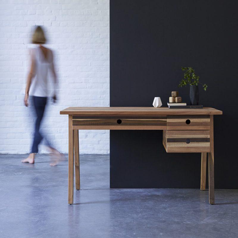Bureau en bois recyclé Karpenter